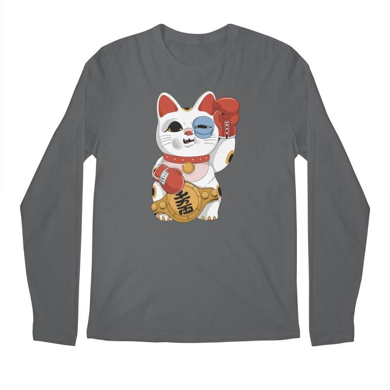 Lucky Cat Champion Men's Longsleeve T-Shirt by Pepe Rodríguez