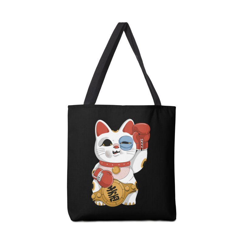 Lucky Cat Champion Accessories Bag by Pepe Rodríguez