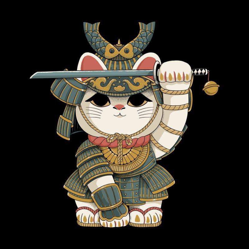 Lucky Cat Samurai Accessories Bag by Pepe Rodríguez