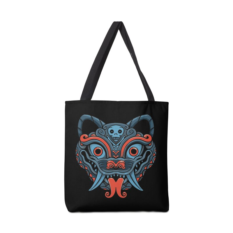 Devil Cat Mask Accessories Bag by Pepe Rodríguez