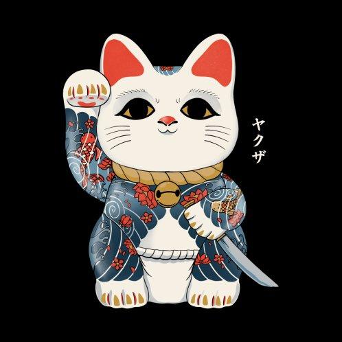 Design for Maneki Yakuza Cat