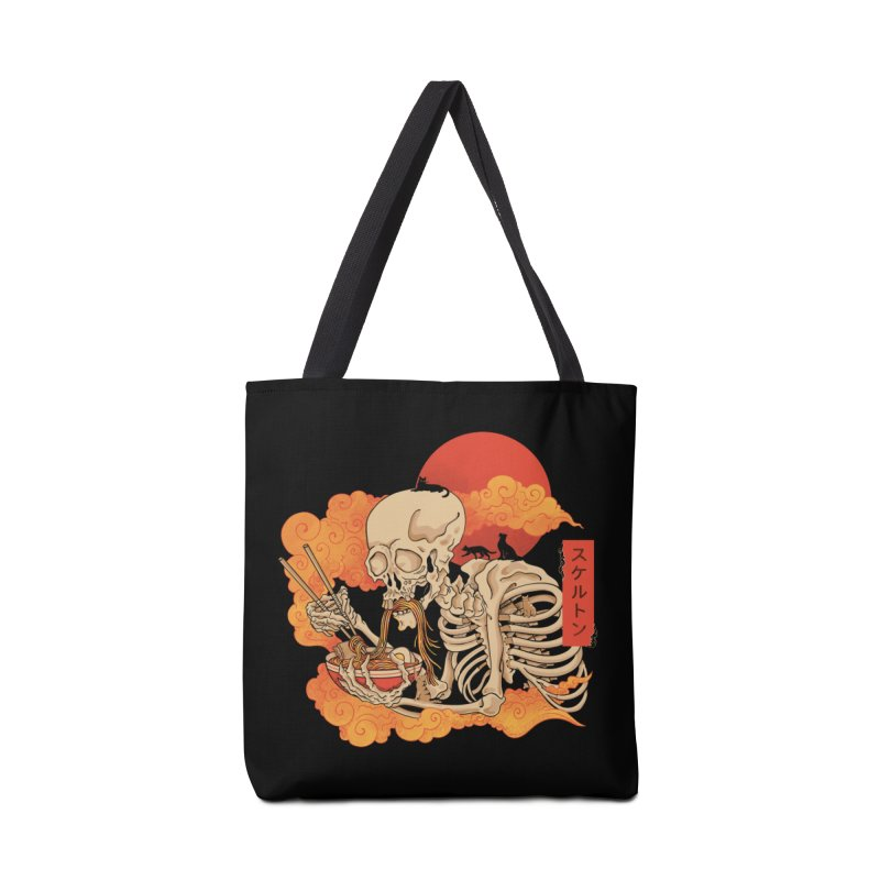 Yokai Ramen and Cats Accessories Bag by Pepe Rodríguez
