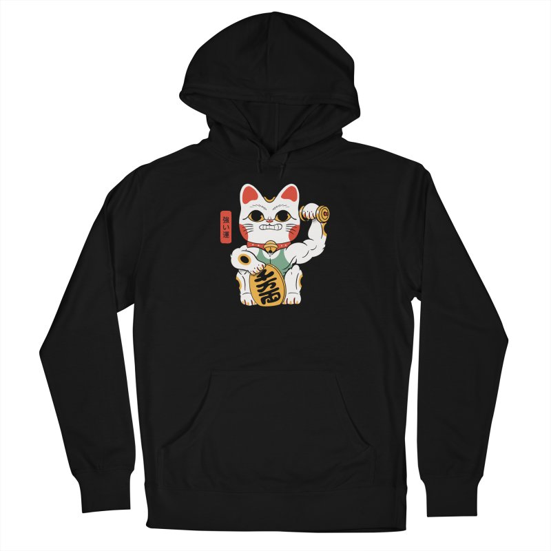 Lucky Strong Cat Men's Pullover Hoody by Pepe Rodríguez
