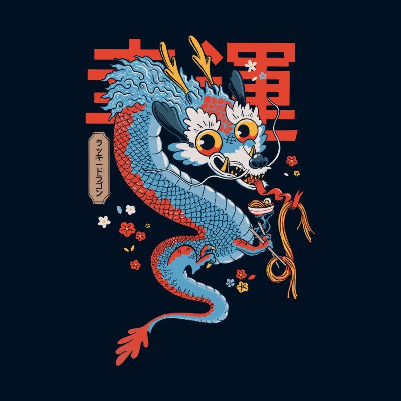 Lucky Dragon Men's Longsleeve T-Shirt by Pepe Rodríguez