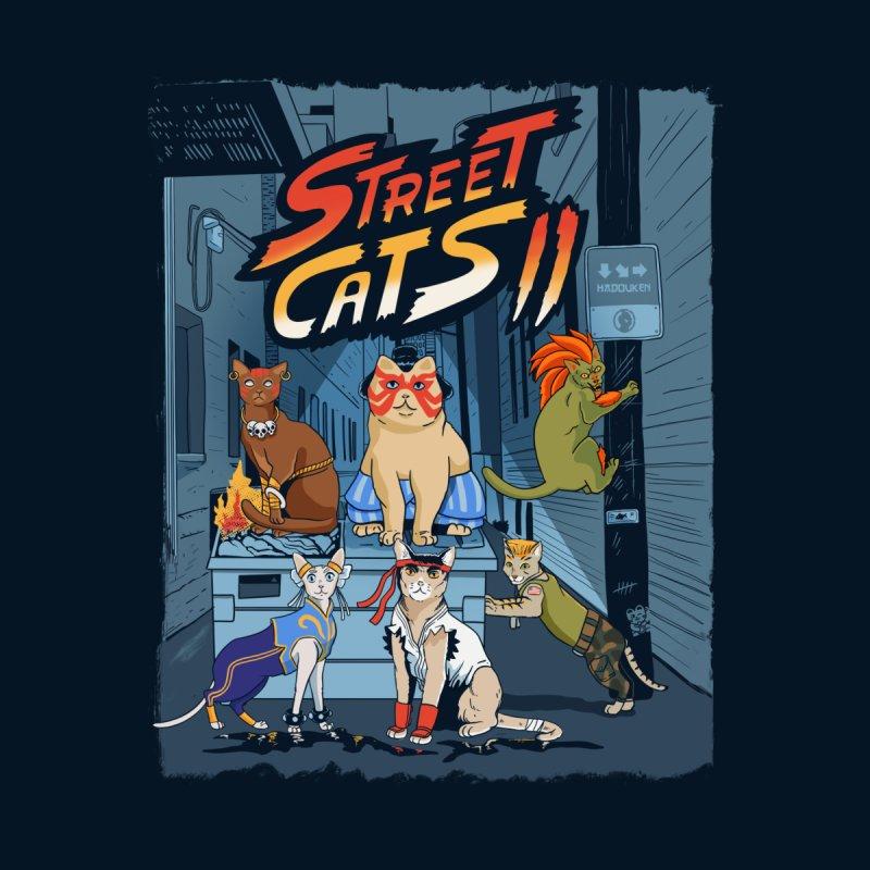Street Cats II Home Throw Pillow by Pepe Rodríguez