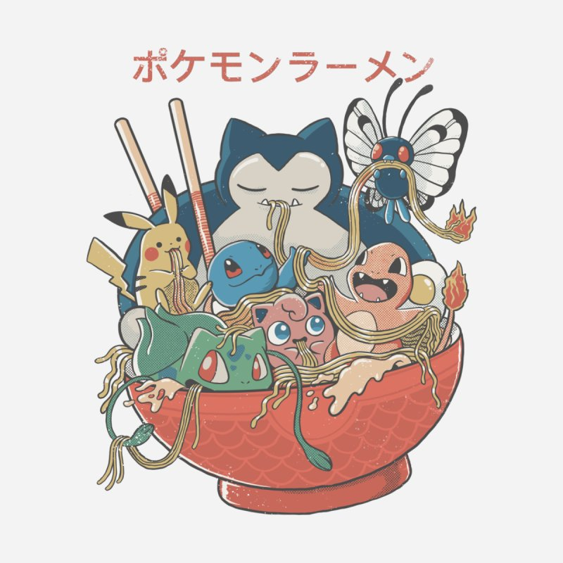 Pokebowl Accessories Face Mask by Pepe Rodríguez