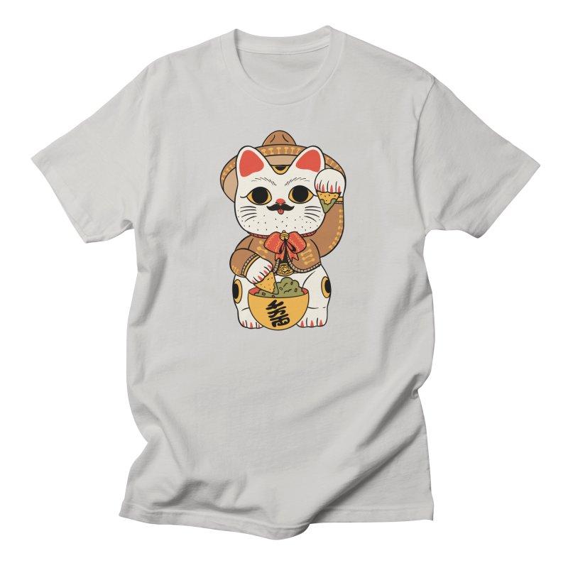 Gato de la suerte Men's T-Shirt by Pepe Rodríguez