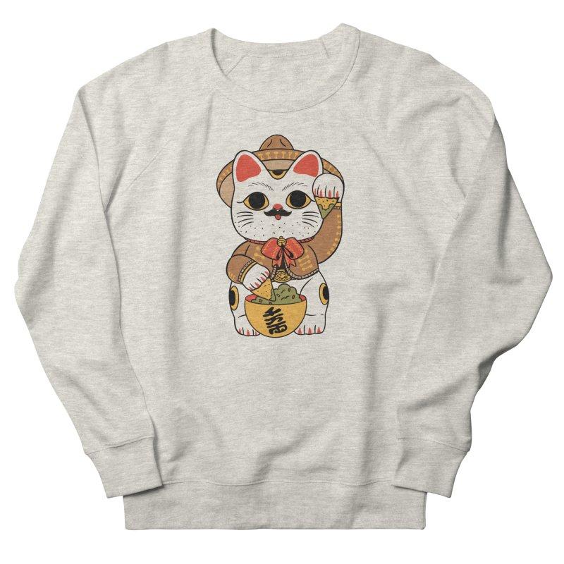 Gato de la suerte Men's Sweatshirt by Pepe Rodríguez