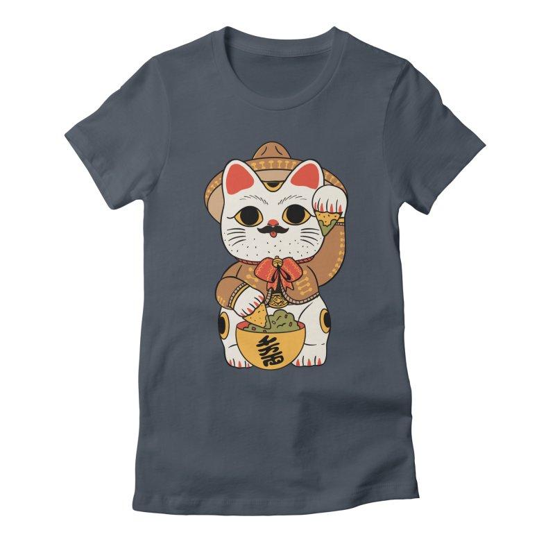 Gato de la suerte Women's T-Shirt by Pepe Rodríguez