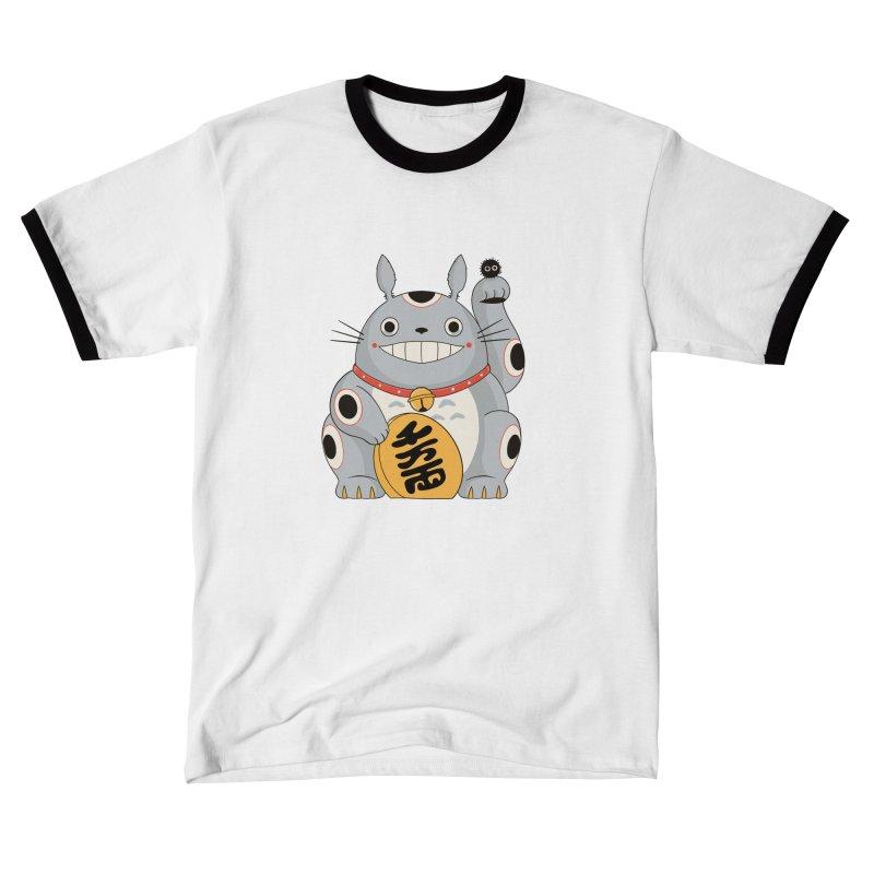 Maneki Neighbor Men's T-Shirt by Pepe Rodríguez