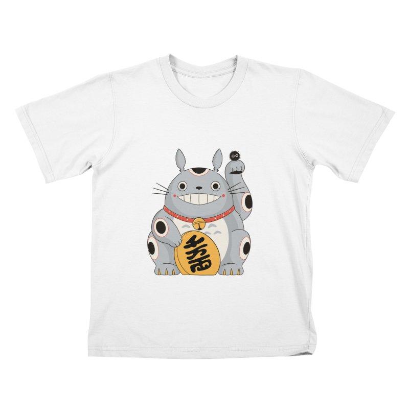 Maneki Neighbor Kids T-Shirt by Pepe Rodríguez