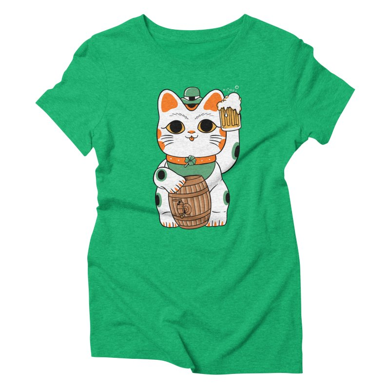 Double Lucky Cat Women's T-Shirt by Pepe Rodríguez
