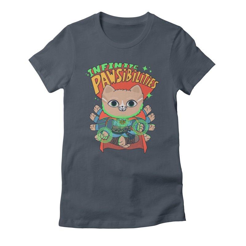 Infinite Pawsibilities Women's T-Shirt by Pepe Rodríguez