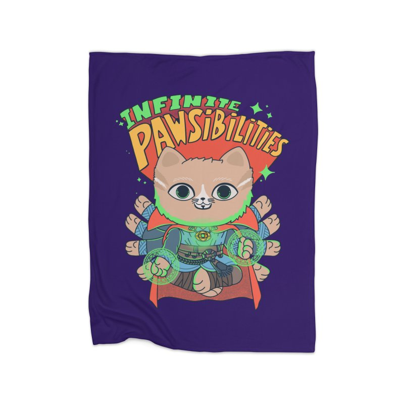 Infinite Pawsibilities Home Blanket by Pepe Rodríguez