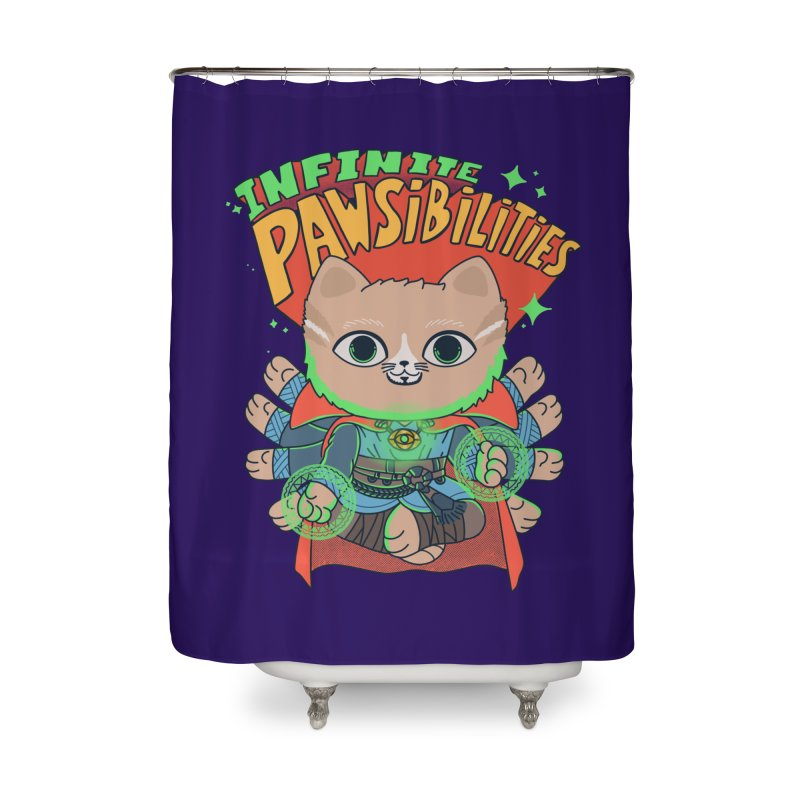 Infinite Pawsibilities Home Shower Curtain by Pepe Rodríguez