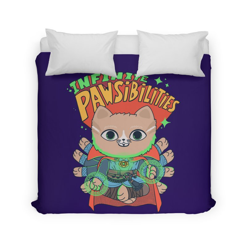 Infinite Pawsibilities Home Duvet by Pepe Rodríguez