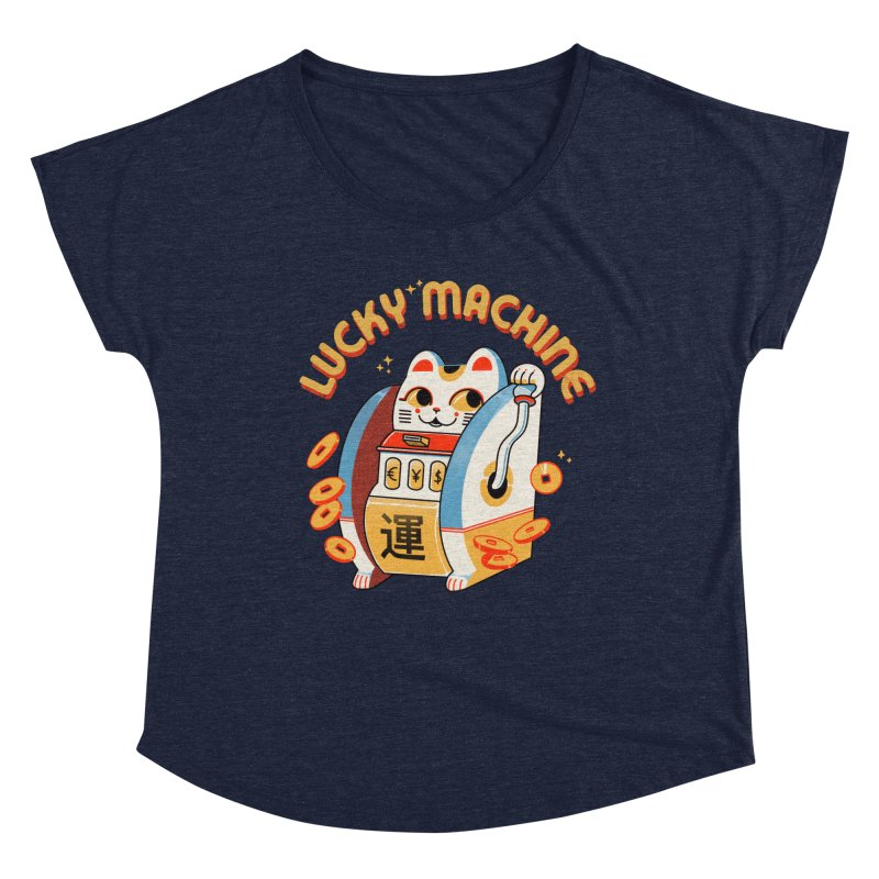 Lucky Machine Women's Scoop Neck by Pepe Rodríguez