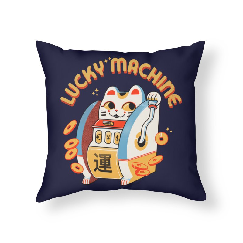 Lucky Machine Home Throw Pillow by Pepe Rodríguez