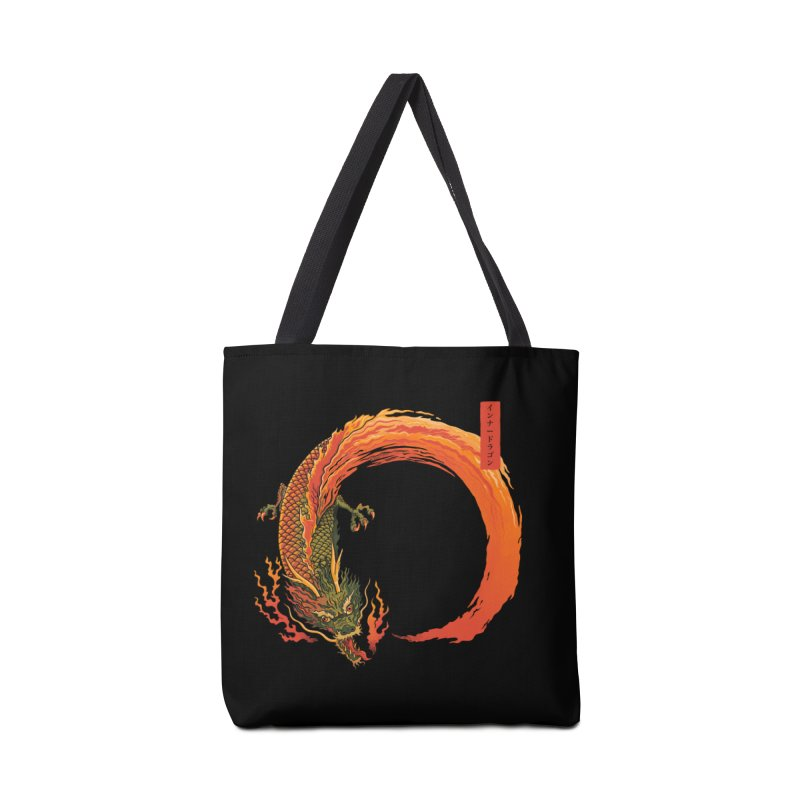 Inner Dragon Fire Accessories Bag by Pepe Rodríguez
