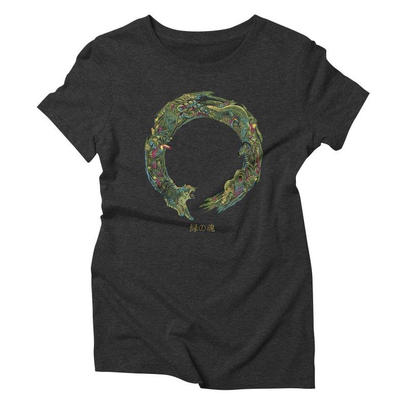Enso Green Soul Women's T-Shirt by Pepe Rodríguez