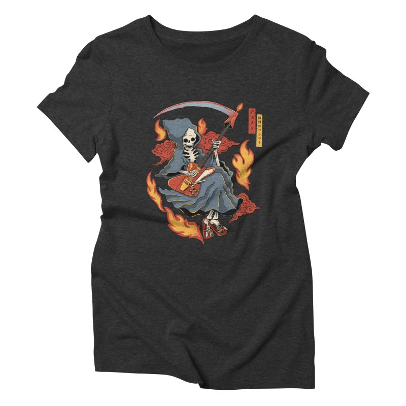 Death Metal Women's T-Shirt by Pepe Rodríguez