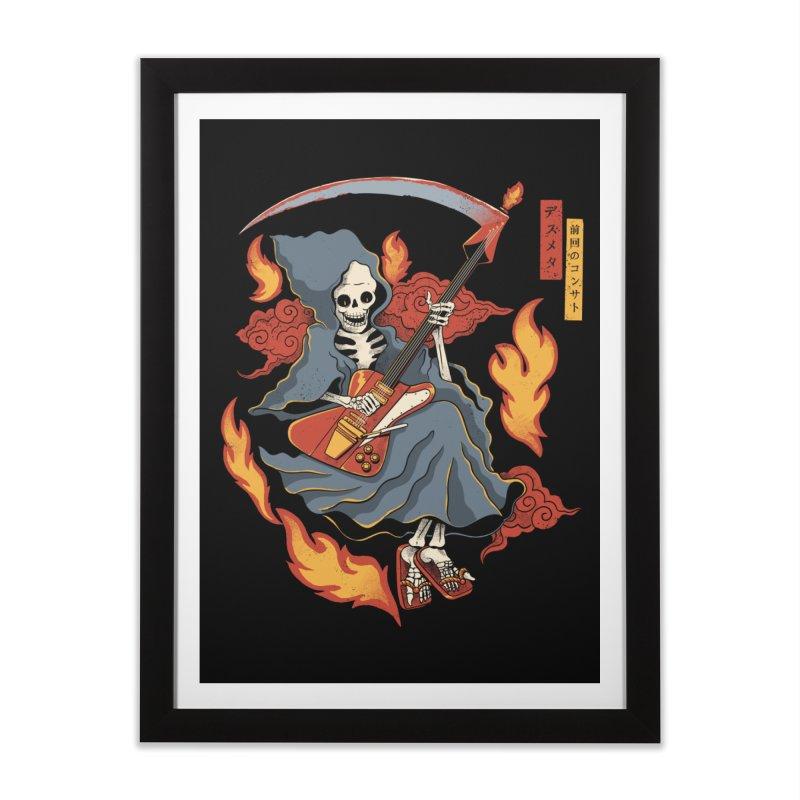 Death Metal Home Framed Fine Art Print by Pepe Rodríguez