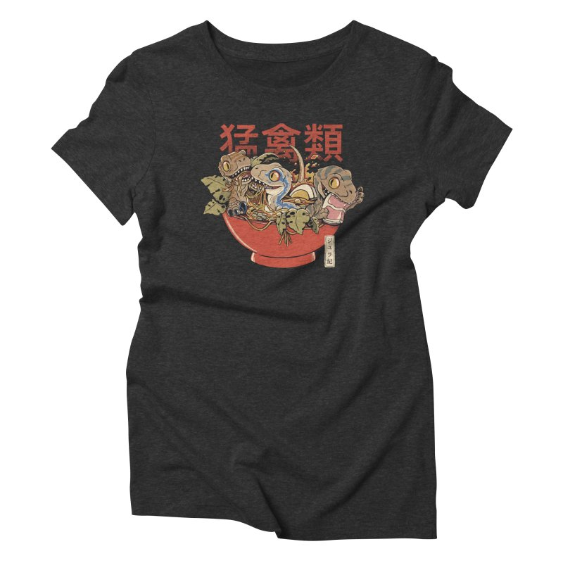 Ramen Raptors Women's T-Shirt by Pepe Rodríguez