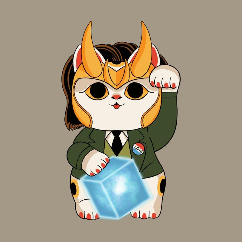 Loki Cat Accessories Zip Pouch by Pepe Rodríguez