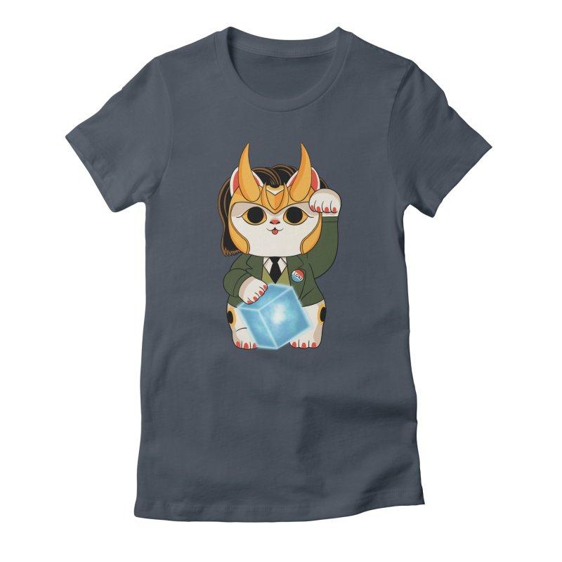 Loki Cat Women's T-Shirt by Pepe Rodríguez