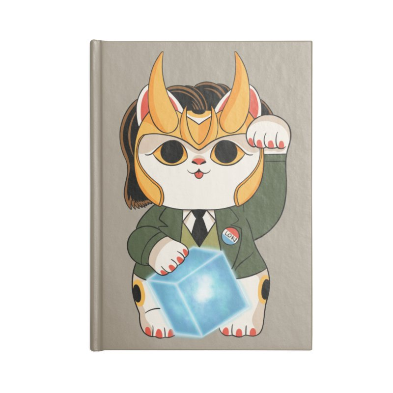 Loki Cat Accessories Notebook by Pepe Rodríguez