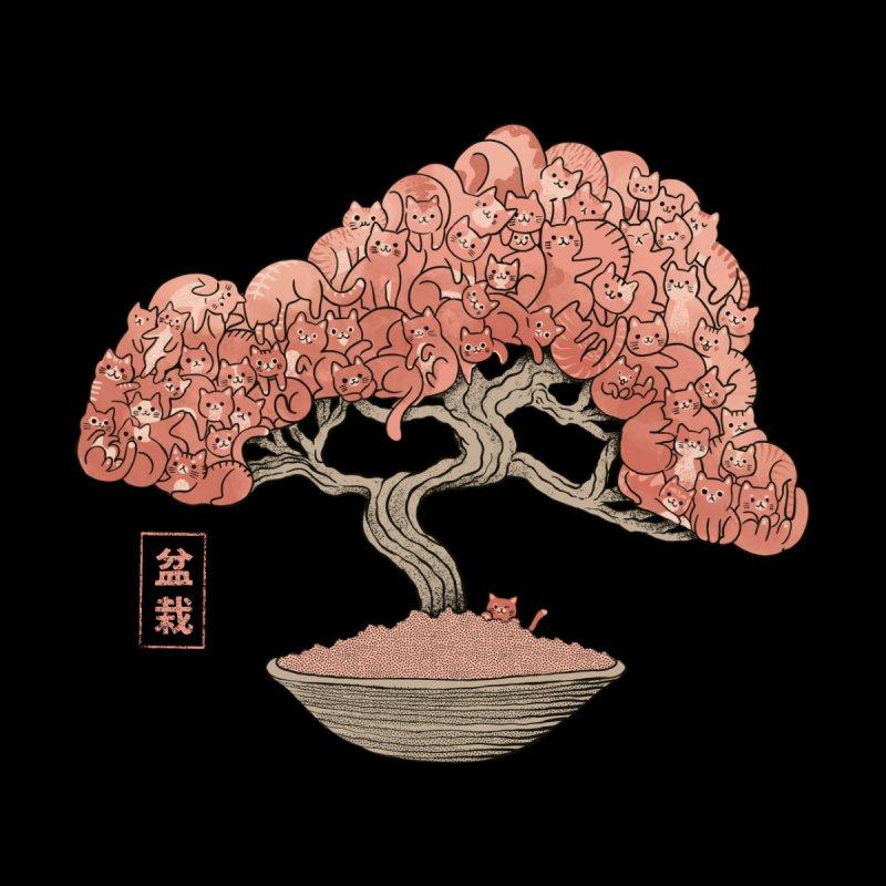 Cat Tree Bonsai Women's Longsleeve T-Shirt by Pepe Rodríguez