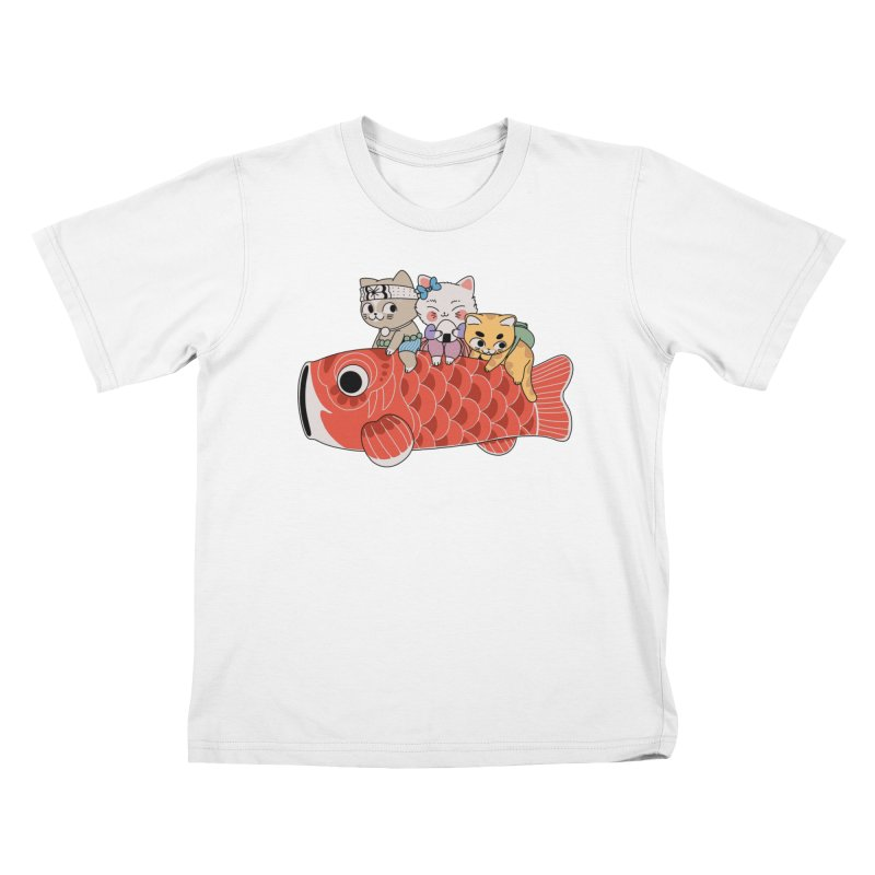 Koinobori Kids T-Shirt by Pepe Rodríguez