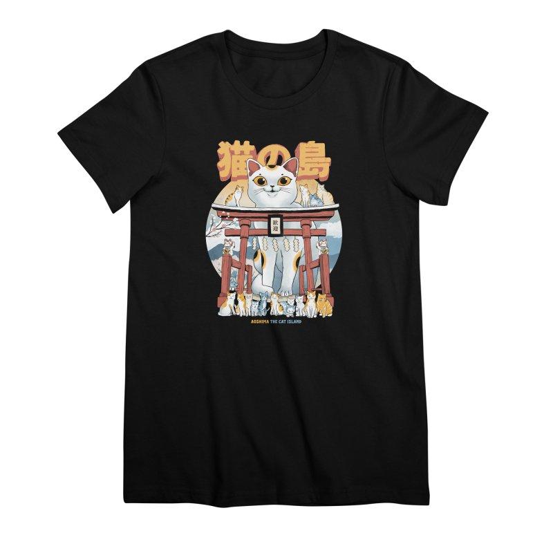 Cat Island Women's T-Shirt by Pepe Rodríguez