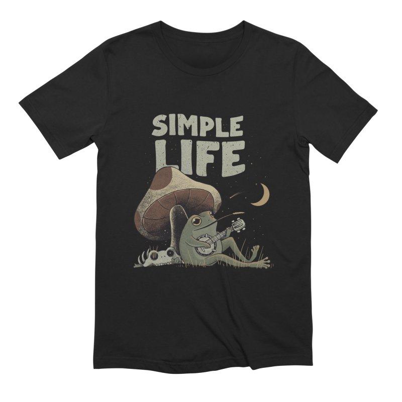 Simple Life Men's T-Shirt by Pepe Rodríguez