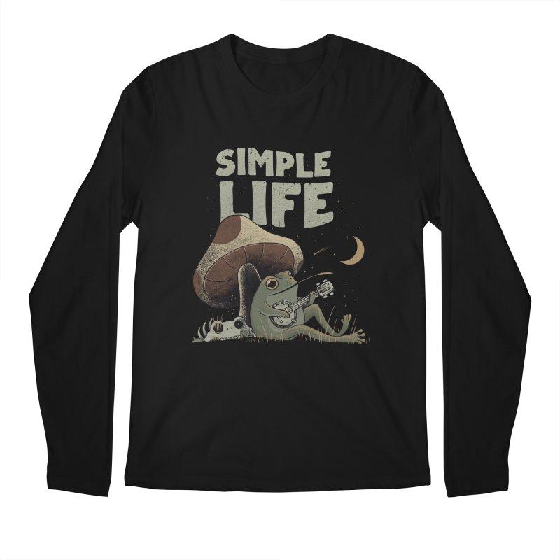 Simple Life Men's Longsleeve T-Shirt by Pepe Rodríguez