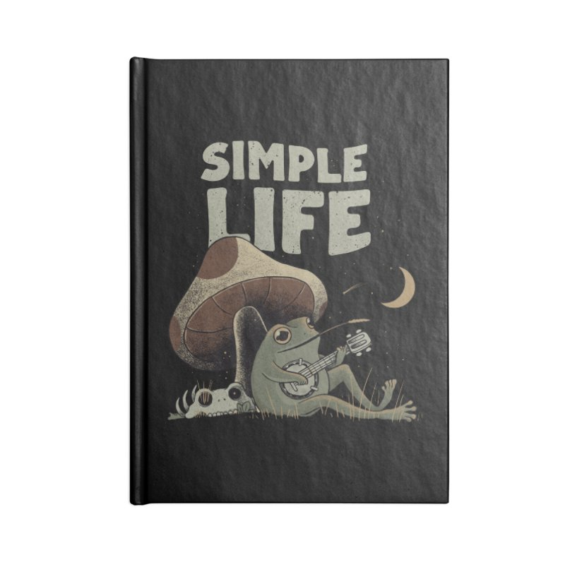 Simple Life Accessories Notebook by Pepe Rodríguez
