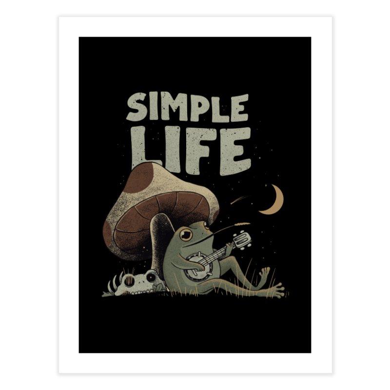 Simple Life Home Fine Art Print by Pepe Rodríguez