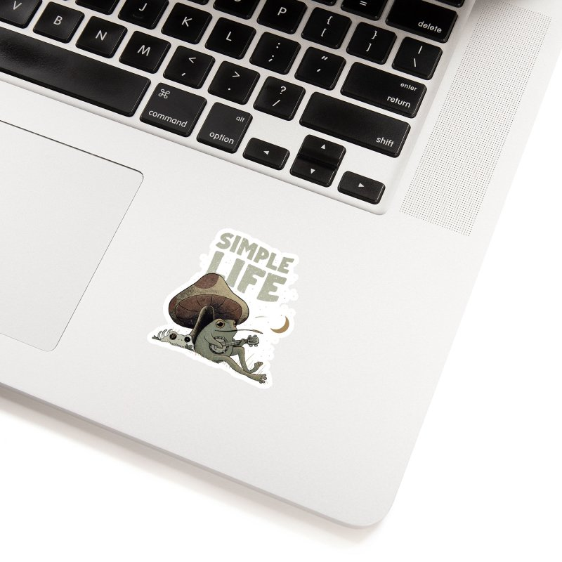 Simple Life Accessories Sticker by Pepe Rodríguez