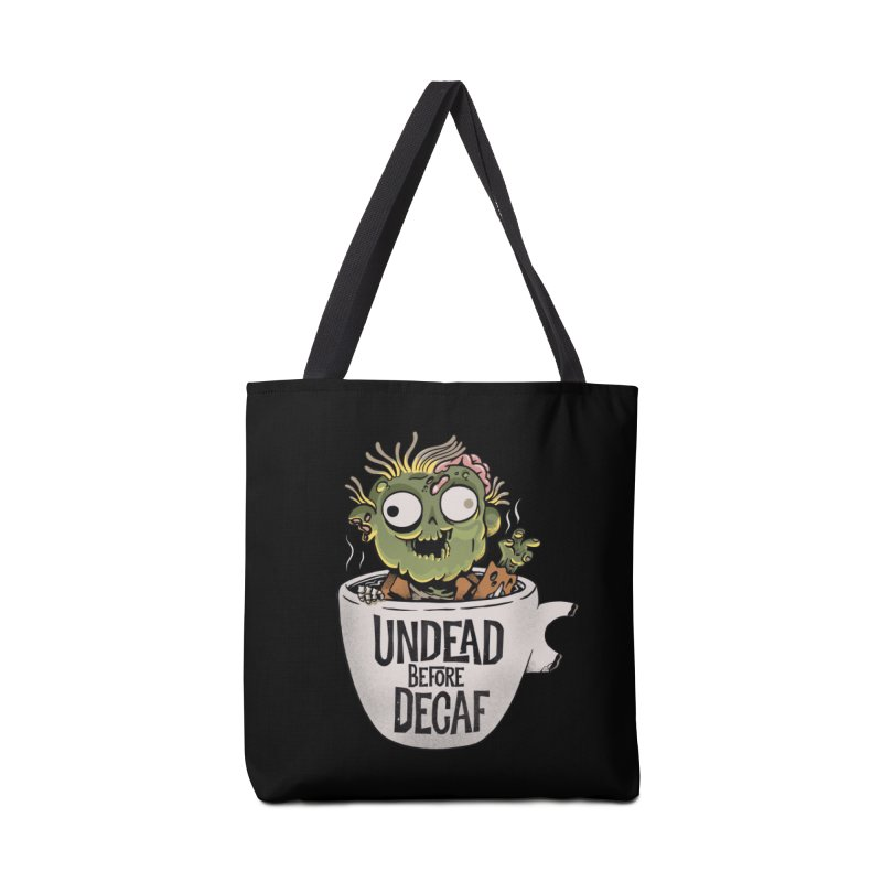 Undead Before Decaf Accessories Bag by Pepe Rodríguez