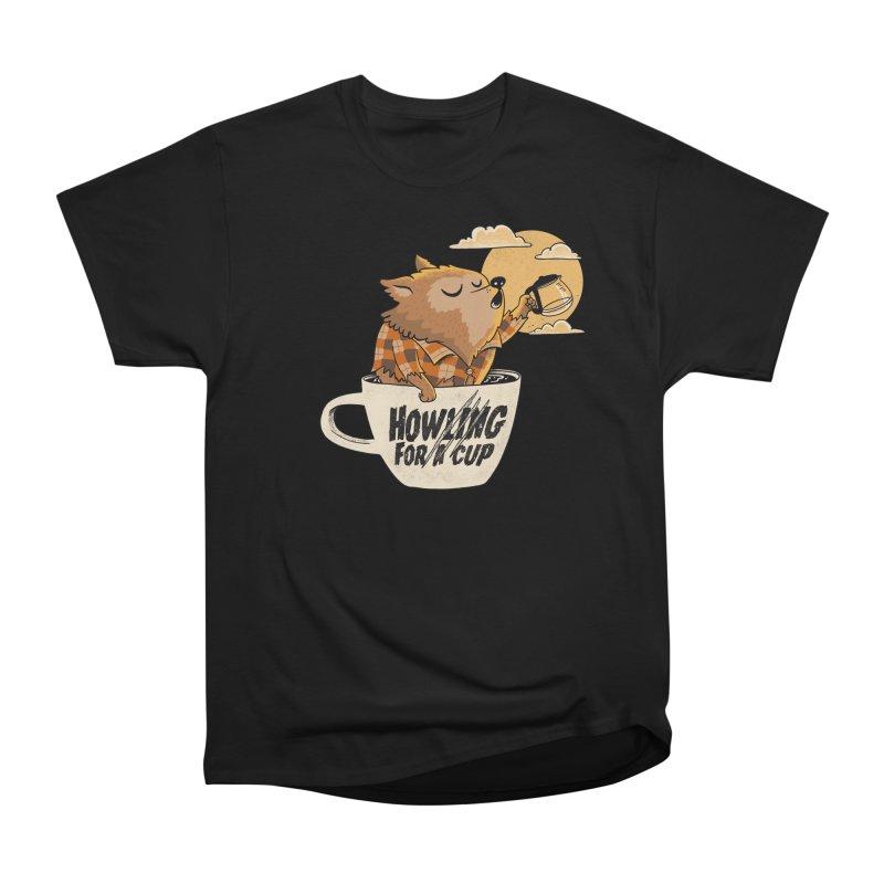 Werewolf and coffee Women's T-Shirt by Pepe Rodríguez