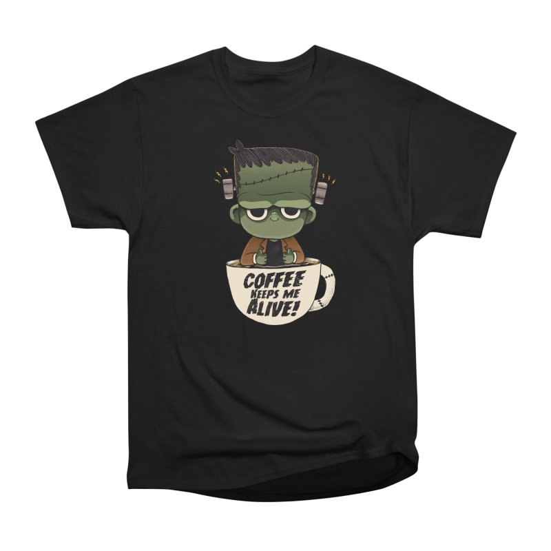 Frankie goes caffeinated Women's T-Shirt by Pepe Rodríguez