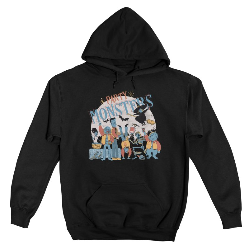 Party Monsters Men's Pullover Hoody by Pepe Rodríguez