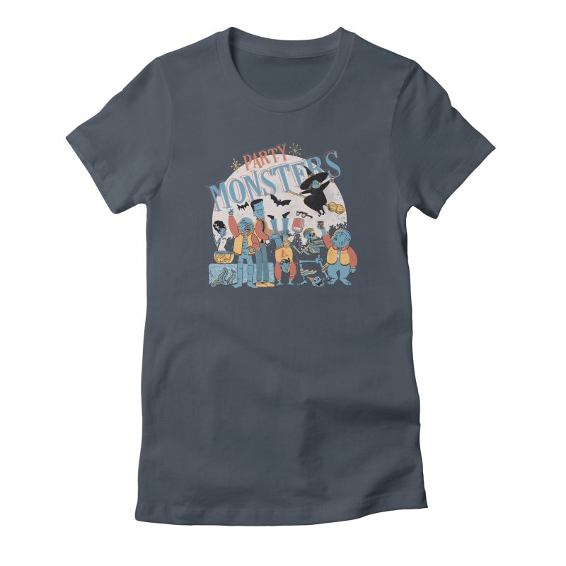 Party Monsters Women's T-Shirt by Pepe Rodríguez