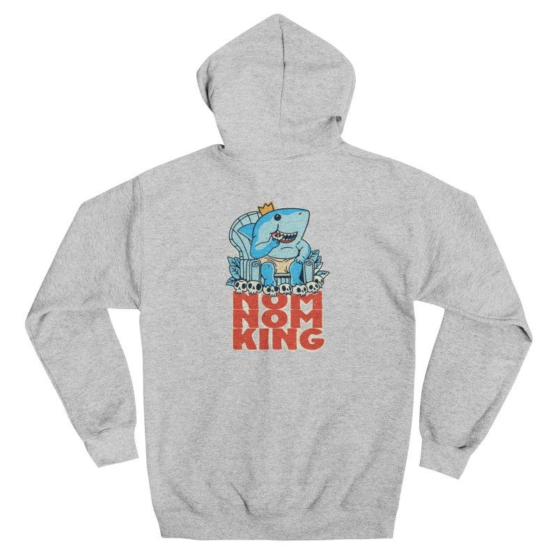 nom nom king Men's Zip-Up Hoody by Pepe Rodríguez