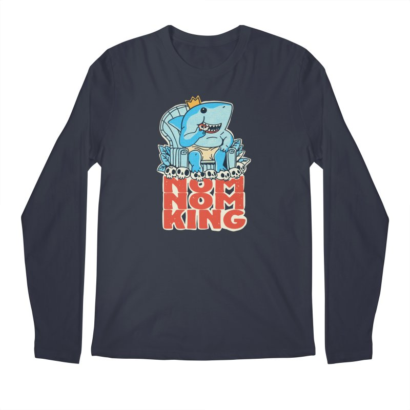 nom nom king Men's Longsleeve T-Shirt by Pepe Rodríguez