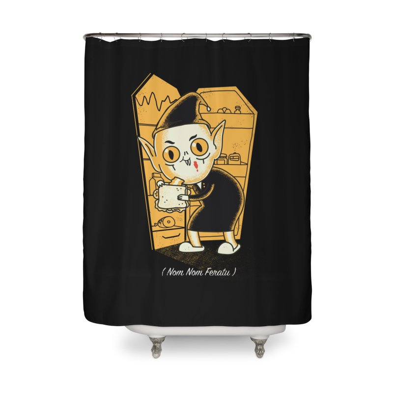 Midnight Snack Home Shower Curtain by Pepe Rodríguez