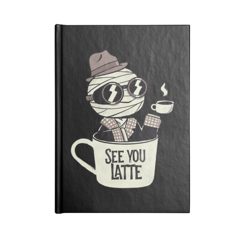 Invisible before coffee Accessories Notebook by Pepe Rodríguez