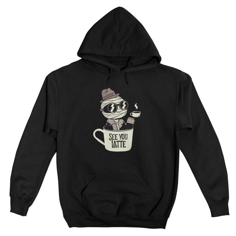 Invisible before coffee Men's Pullover Hoody by Pepe Rodríguez