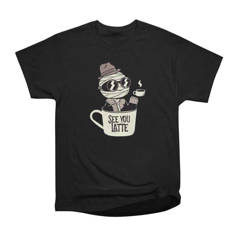 Invisible before coffee Men's T-Shirt by Pepe Rodríguez