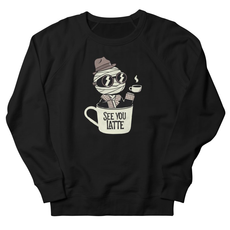 Invisible before coffee Men's Sweatshirt by Pepe Rodríguez